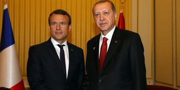 Macron, Erdoğan'a özendi: ABD ve İsrail...