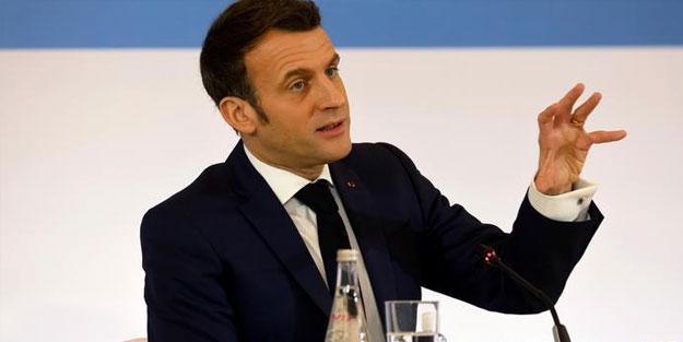 Macron ağzını açanın istifasını alacak