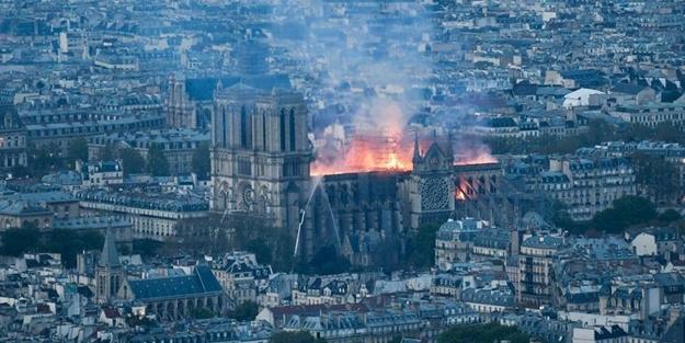 Macron Notre Dame için tarih verdi! Bağış yağdı