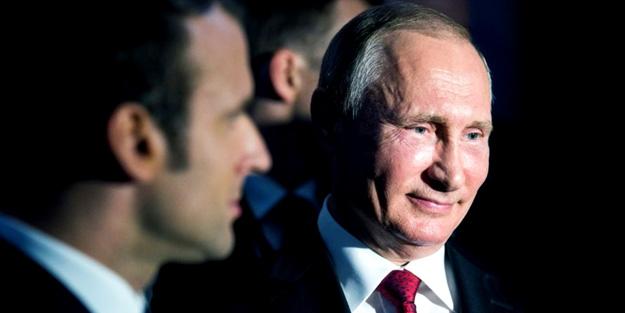 Macron: Suriye'ye Putin yüzünden saldırdım!