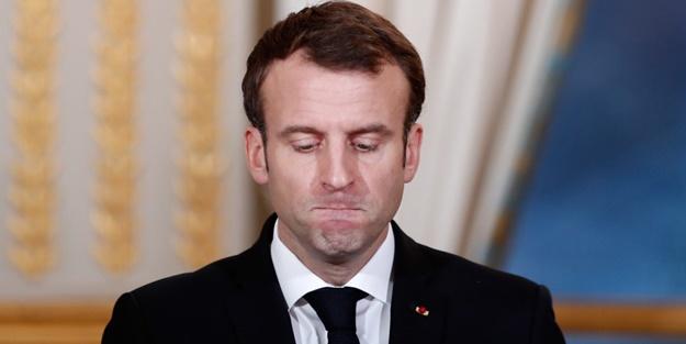 Macron'a bir tokat da sandıkta! Dibi gördüler