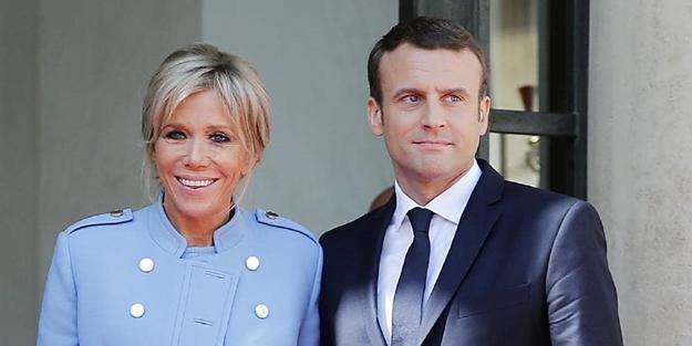 Macron A Sok Esi Duyunca Cildirdi