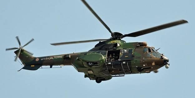 Macron'a şok! Fransız helikopterine el koydular