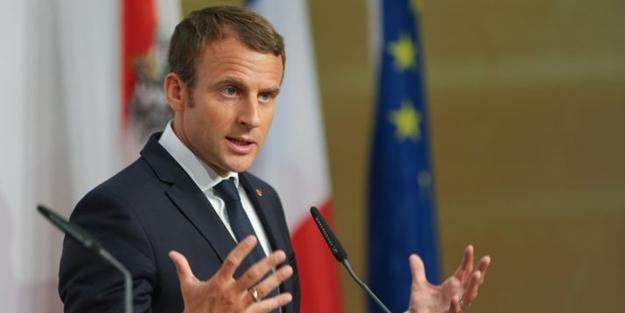 Macron'dan 'Suriye' açıklaması: Biz ayrılırsak savaş çıkar