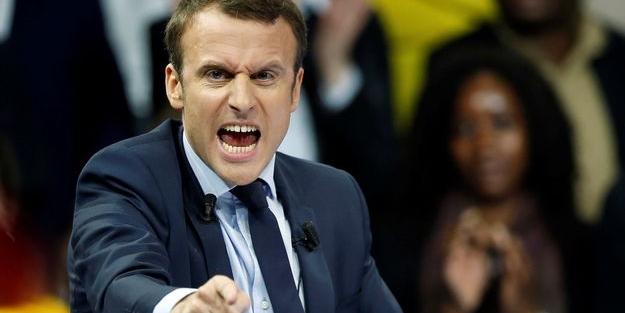 Macron'dan Suriye açıklaması: Kanıt olursa vururuz!