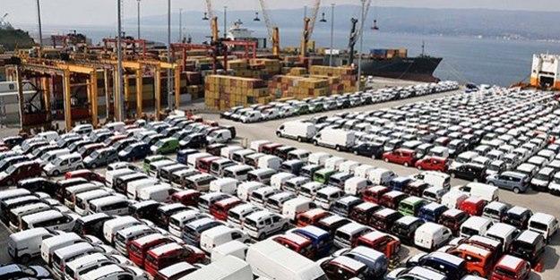 """""""Made in Sakarya"""" damgalı 109 bin 242 araç ihraç edildi"""