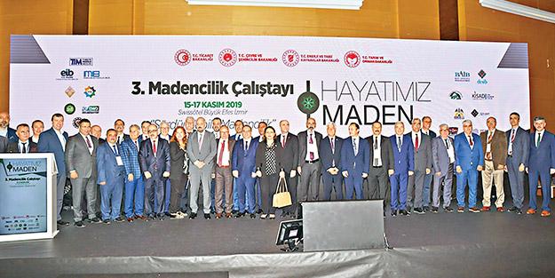 Madenciler İzmir'de tek ses oldu! 15 milyar dolarlık ihracat için kenetlendiler