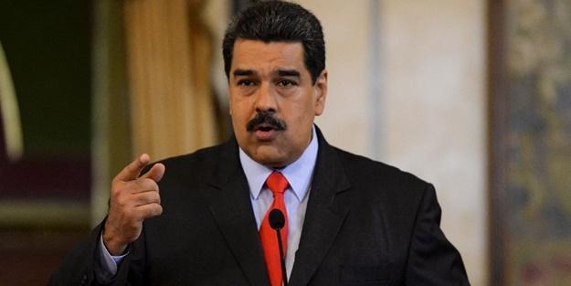 Maduro, Guaido ile ABD'liler arasında imzalanan gizli belgeyi açıkladı
