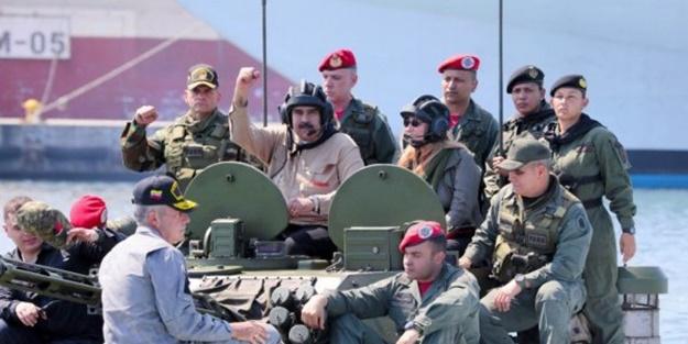 Maduro'dan askerlere talimat!