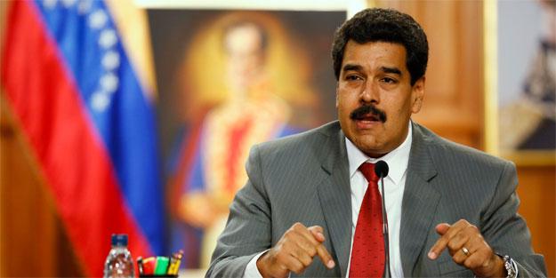 Maduro'dan Trump'a tepki: Çek ellerini ülkemden!