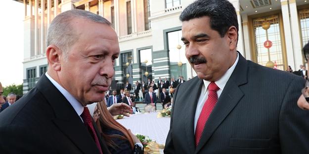 Maduro'dan Türkiye paylaşımı