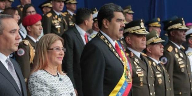 Maduro'ya yapılan suikast girişiminde çarpıcı detay! Daha önce karikatürü yapılmış
