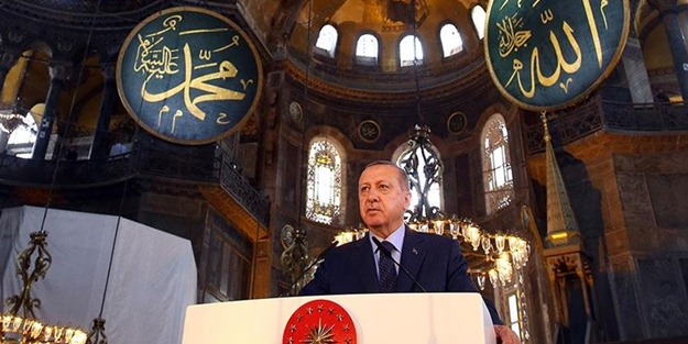 Mağrip'ten Ayasofya Camii açıklaması: Bu, tarihi bir olay! Erdoğan'ı...