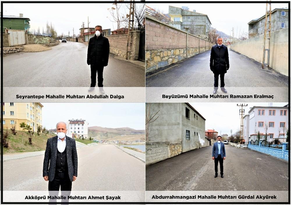 Mahalle muhtarlarından Başkan Akman'a teşekkür