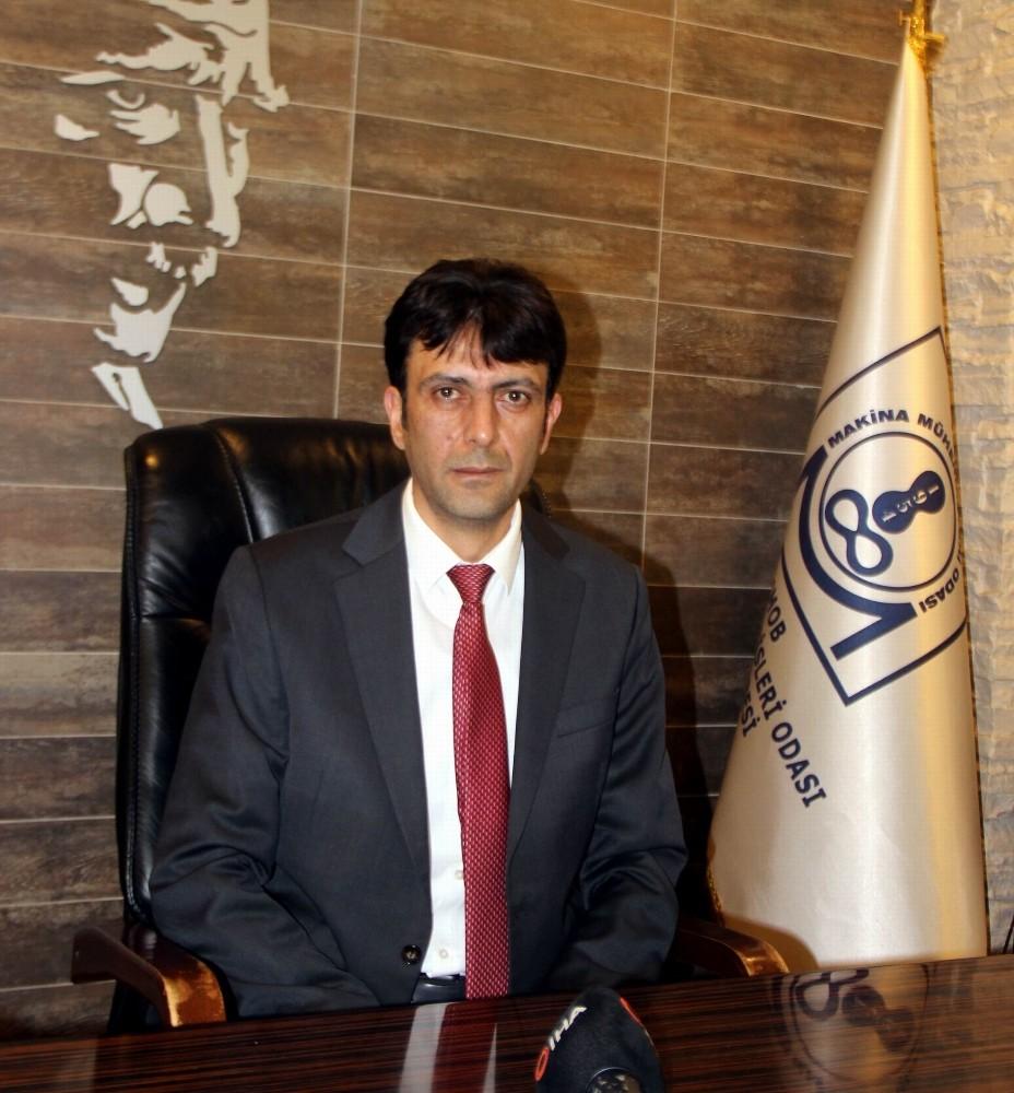 Makina Mühendisleri Odası Şube Başkanı Aksoy 2019 faaliyetlerini değerlendirdi