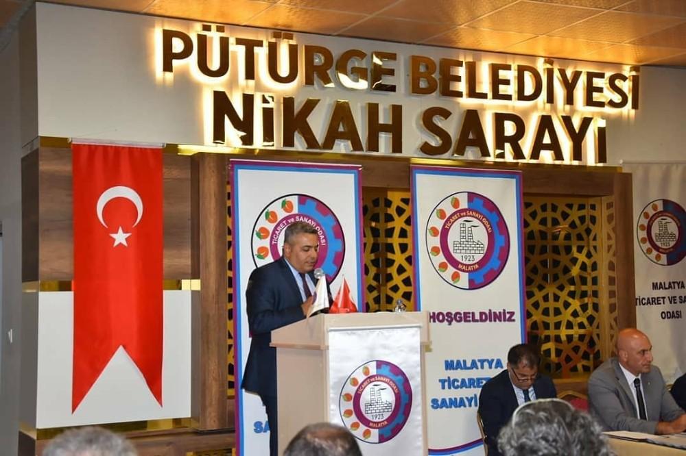 Malatya TSO Meclisi Pütürge'de toplandı