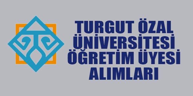 Malatya Turgut Özal Üniversitesi Doçent öğretim üyesi alım ilanı | Başvurular nasıl yapılacak?