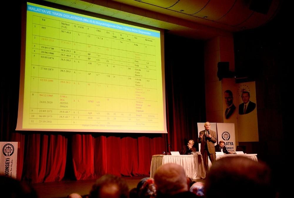 Malatya'da deprem panel düzenlendi