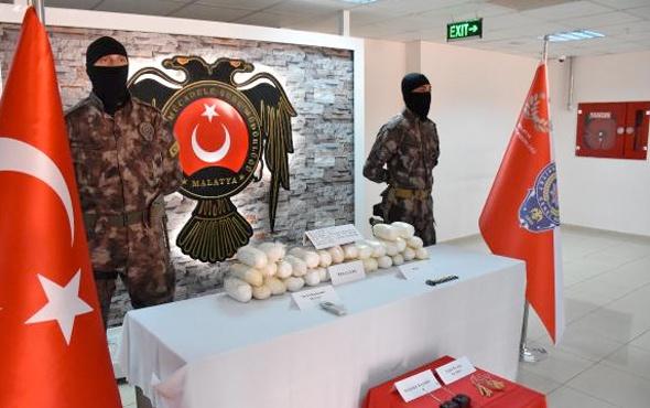 Malatya'da otomobilde ele geçen 28 kilo patlayıcıya 13 gözaltı daha