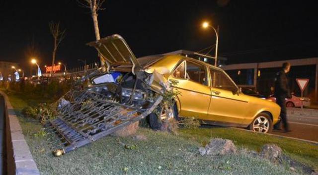 Malatya'da trafik kazası: 4 kişi yaralı