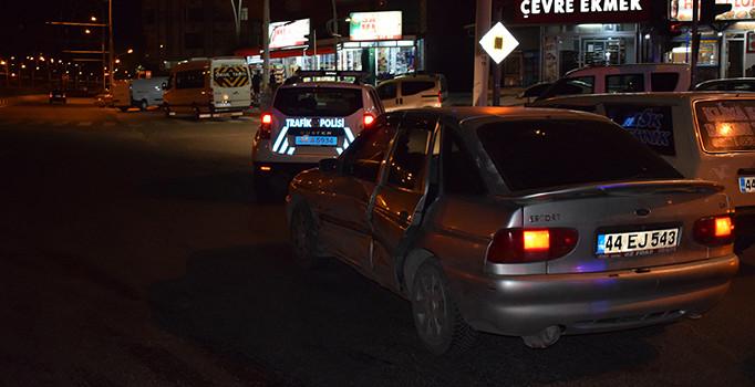 Malatya'da trafik kazası: 5 kişi yaralı