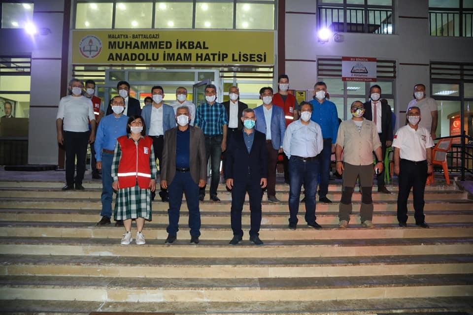 Malatya'dan Kızılay'a tam destek