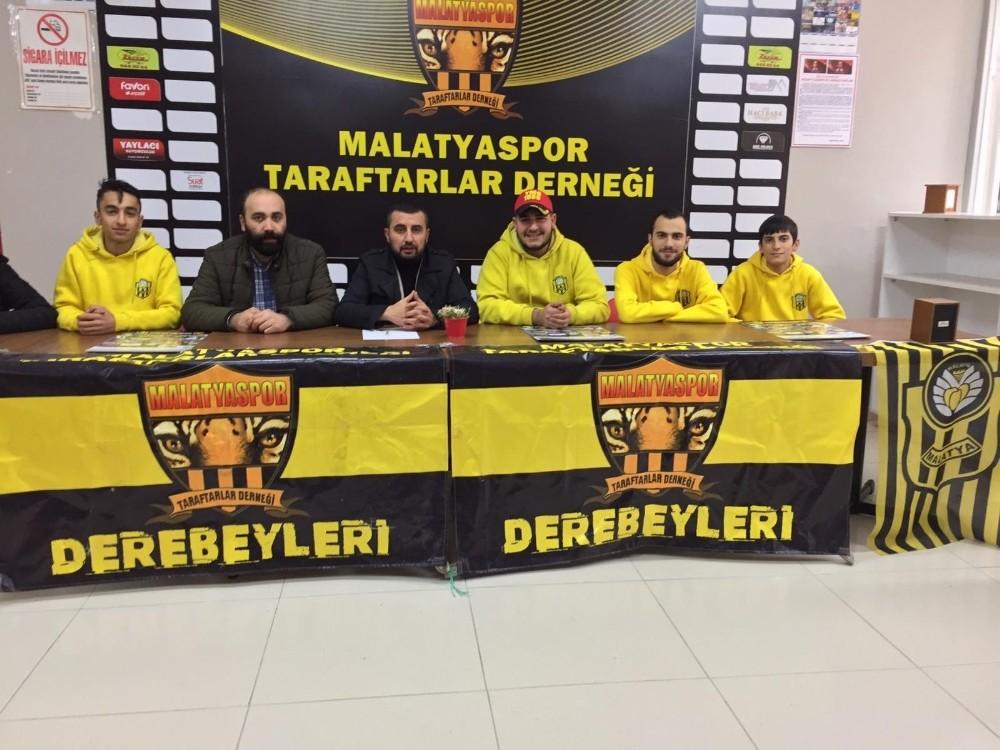 Malatyaspor Taraftarlar Derneği'nden 'takımımızın yanındayız' mesajı