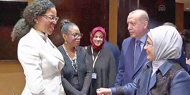 Malcolm X'in kızı İlyasa Şahbaz: Erdoğan'da babamı gördüm