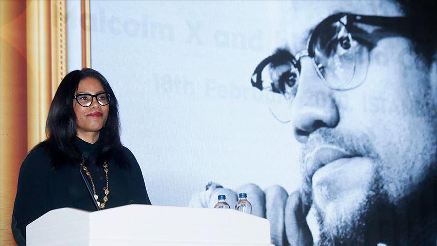 Malcom X'in kızı İlyasa Şahbaz: Savcılığın Malcom X suikasti dosyasını yeniden açacak olmasından dolayı çok mutluyum