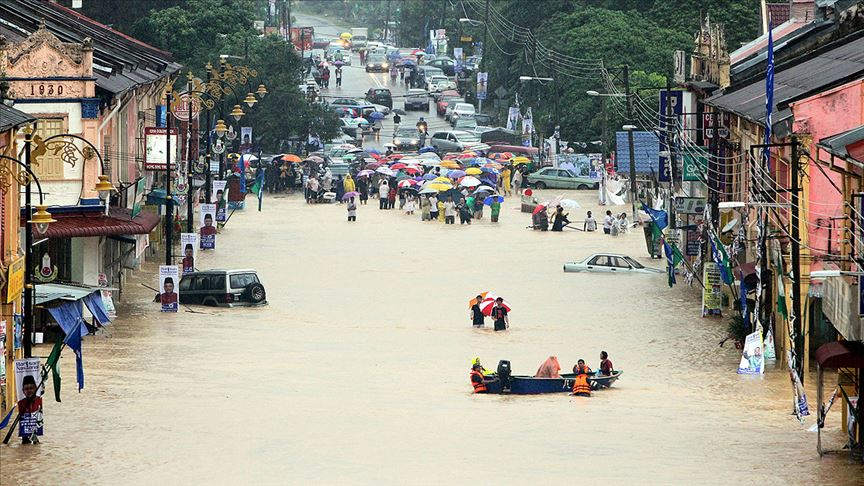 Malezya'da sel baskınları 11 binden fazla kişi tahliye edildi