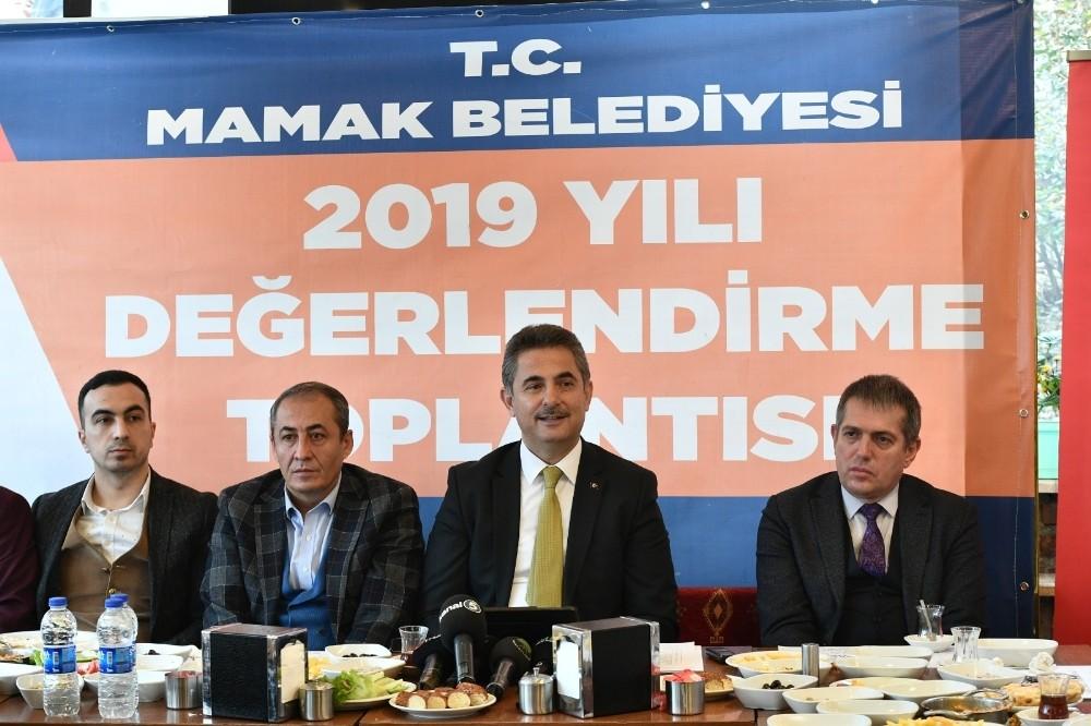 Mamak Belediyesi 2019 yılı değerlendirme toplantısı gerçekleşti.