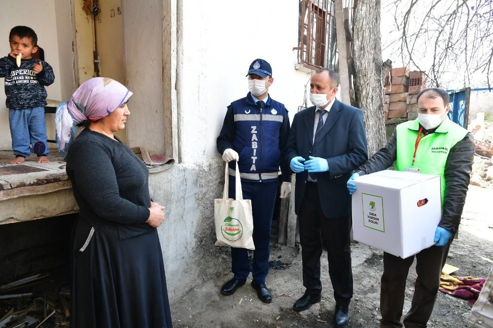 Mamak Belediyesinden kağıt toplayıcılarına destek paketi