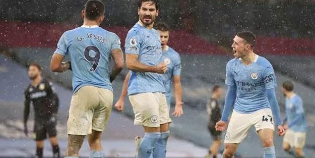 Manchester City 6'da 6 yaptı