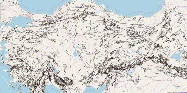 Manisa fay hattı nereden geçiyor?