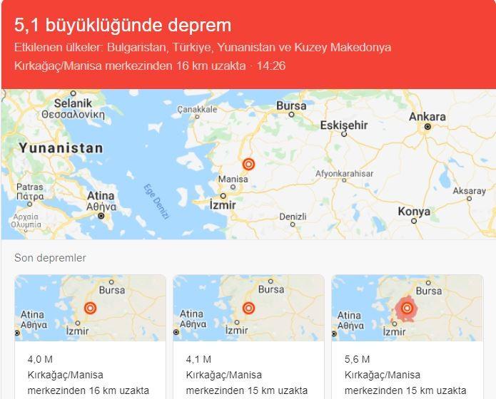 Manisa Kırkağaç depremi can kaybı var mı?
