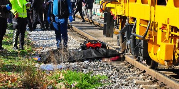Manisa'da acı olay! Raylara düşen kadın öldü