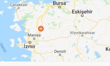 Manisa'da yeni deprem kaç şiddetinde oldu?