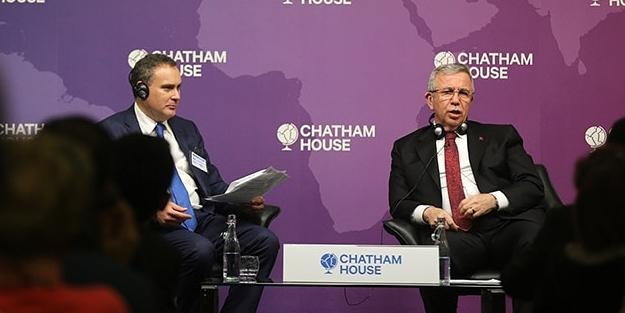 Mansur Yavaş da Sevr Anlaşması'nın mimarı Chatham House'a gitti!
