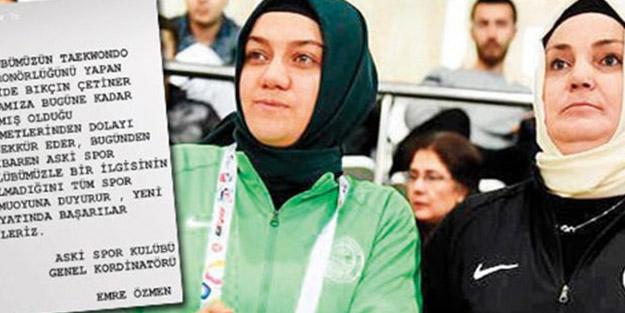 Mansur Yavaş'ın ekibi başörtülü sporcuları kovdu