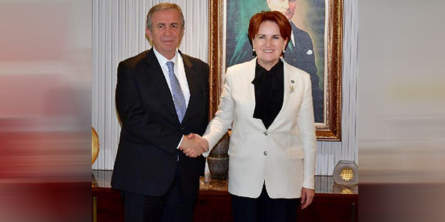 Mansur Yavaş'tan İP Lideri Akşener'e ziyaret
