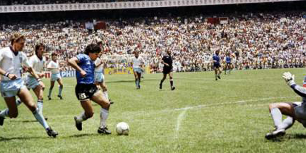 Maradona'yı Maradona yapan o maç!