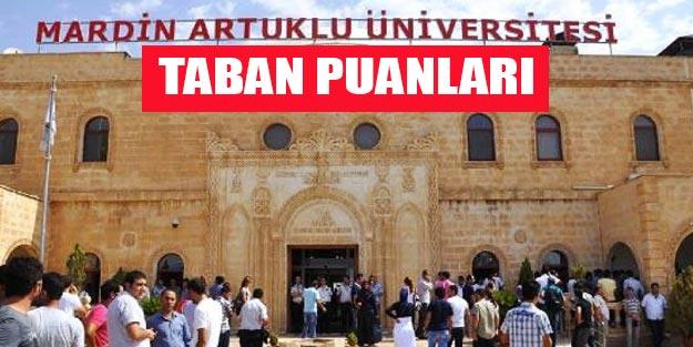 Mardin Artuklu Üniversitesi taban puanları 2019 YÖK atlas
