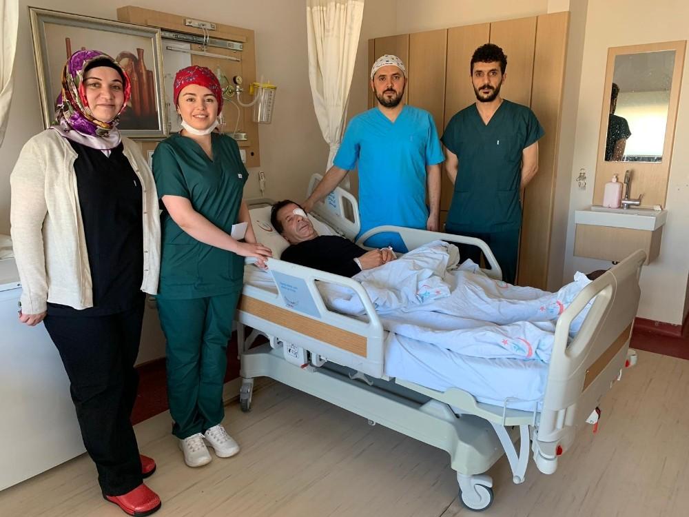 Mardin Devlet Hastanesi'nde ilk kez kornea nakli gerçekleşti