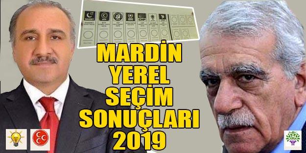 Mardin yerel seçim sonuçları 2019 | Mardin ilçeleri yerel seçim sonuçları HDP AK Parti oy oranları