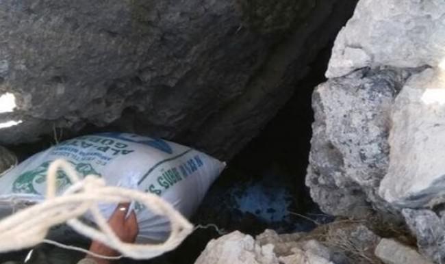 Mardin'de 8 ton patlayıcı tespit edildi