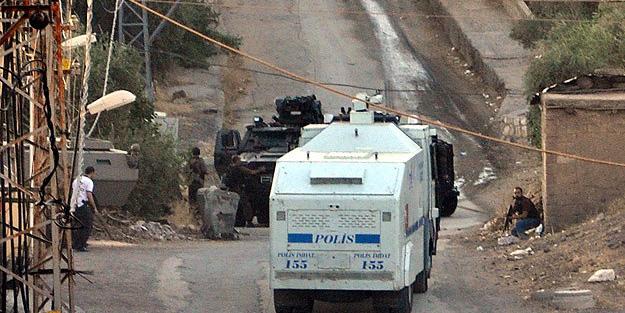 Polis aracına mayınlı saldırı, yaralı polisler var