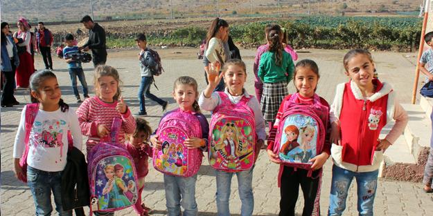 Mardin'li ilkokulu öğrencilerinin dileklerini yerine getirildi