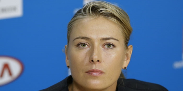 Maria Sharapova'dan skandal paylaşım!