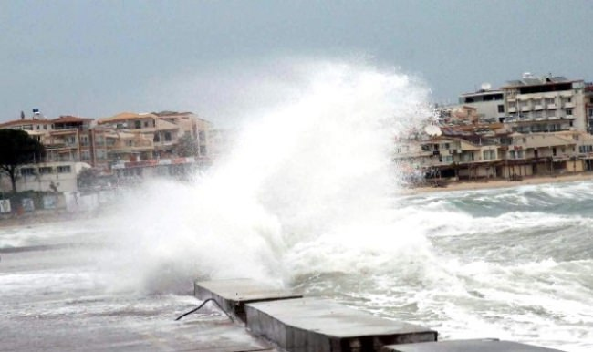 Marmara Denizi'ni 2 gün boyunca fırtına bekliyor