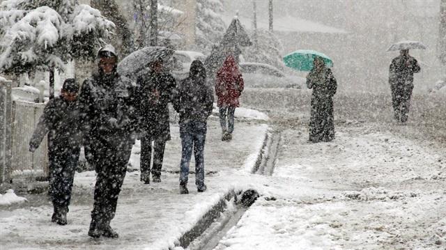 Marmara, Karadeniz ve Doğu Anadolu'da kar bekleniyor